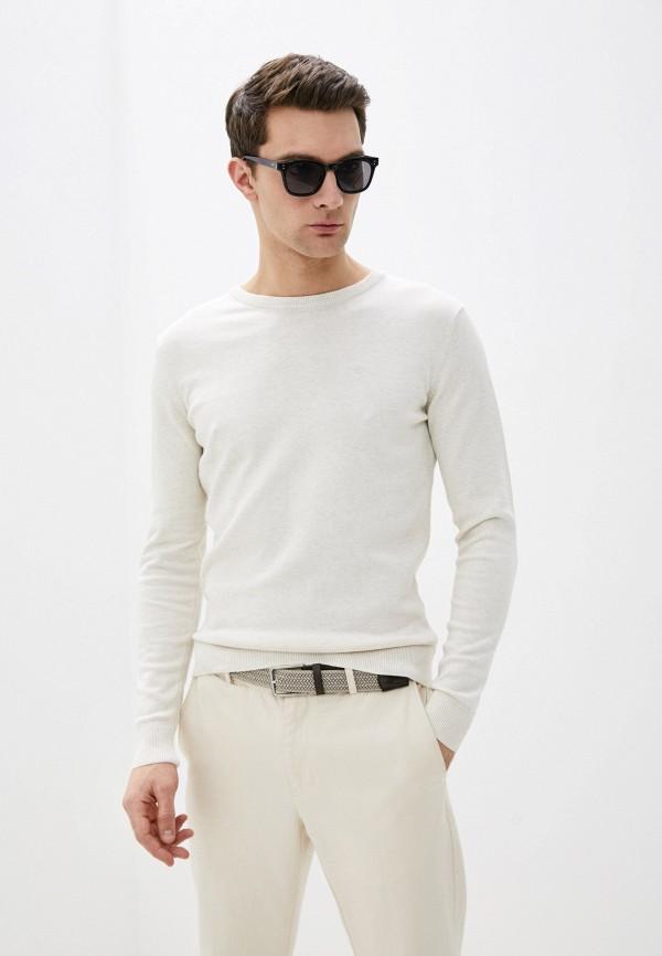 мужской джемпер tom tailor, бежевый