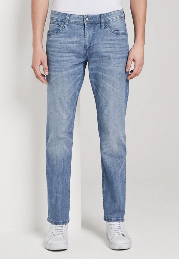 мужские прямые джинсы tom tailor, голубые