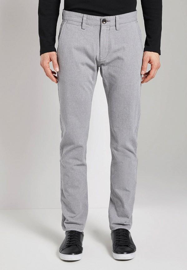мужские брюки чинос tom tailor, серые