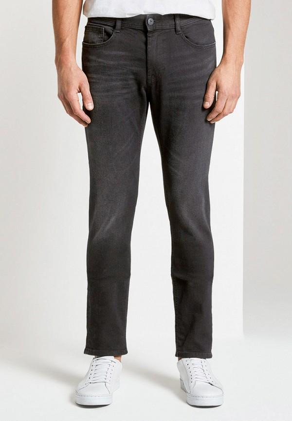 мужские прямые джинсы tom tailor, черные