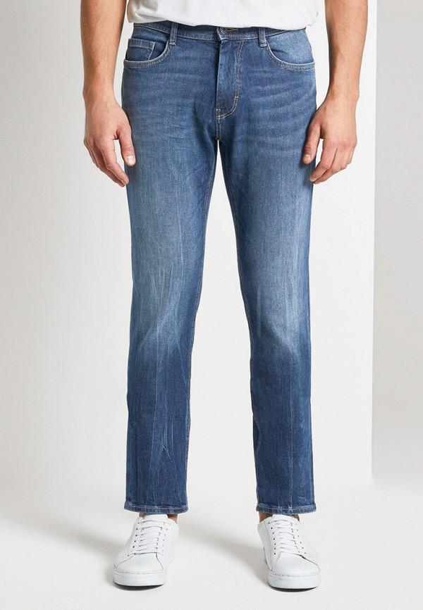 мужские прямые джинсы tom tailor, синие