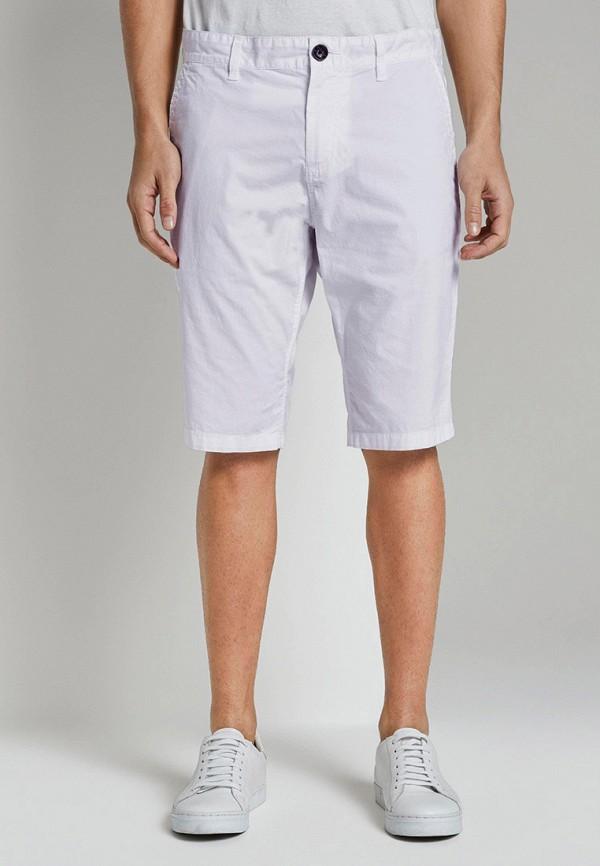 мужские повседневные шорты tom tailor, белые