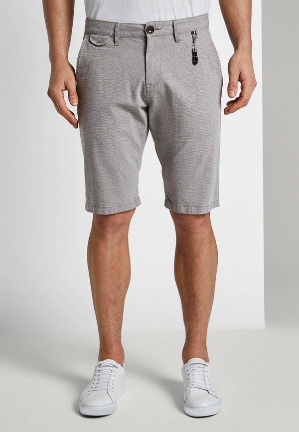 мужские повседневные шорты tom tailor, серые