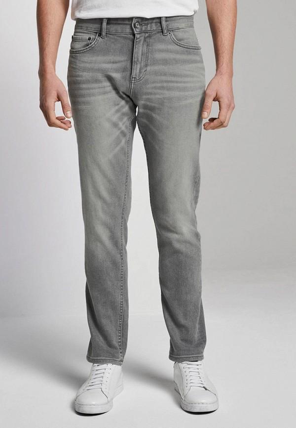 мужские зауженные джинсы tom tailor, серые