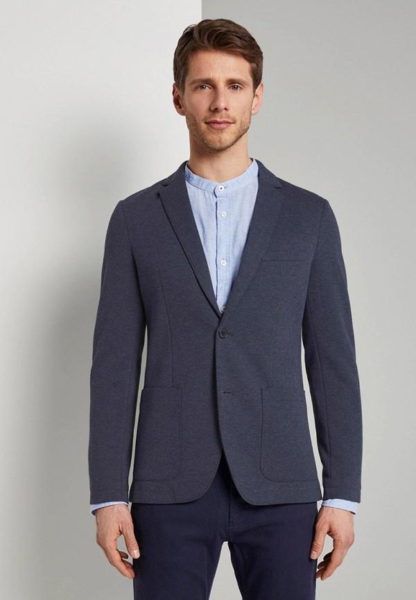 мужской пиджак tom tailor, синий
