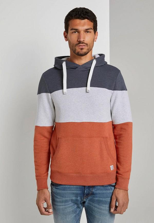 мужские худи tom tailor, разноцветные