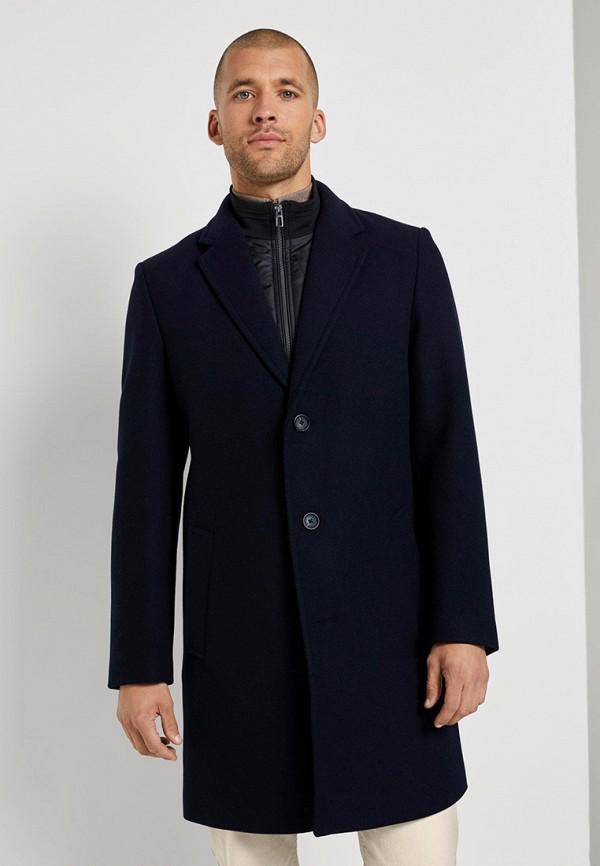 мужское пальто tom tailor, синее