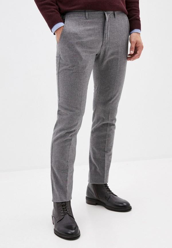 мужские прямые брюки tom tailor, серые