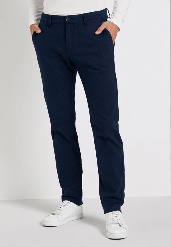мужские классические брюки tom tailor, синие