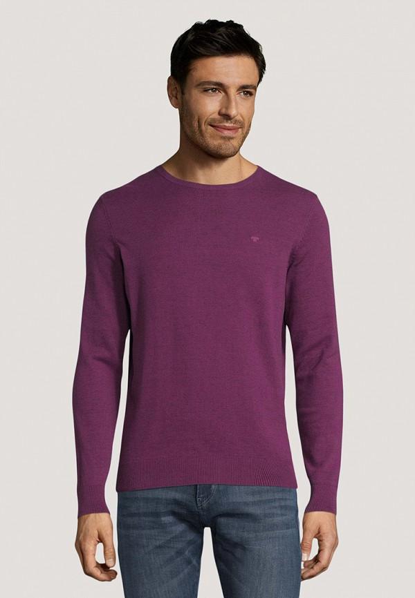мужской джемпер tom tailor, фиолетовый