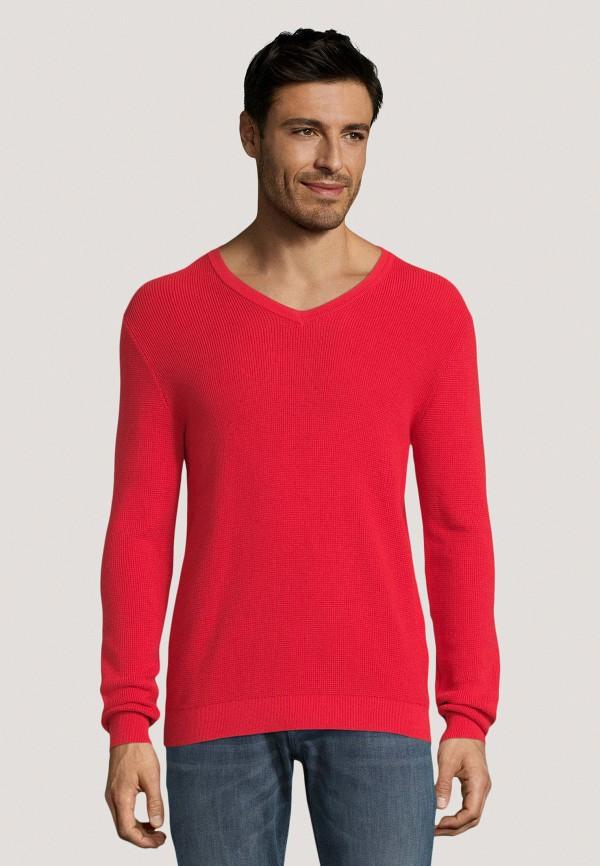 мужской пуловер tom tailor, розовый