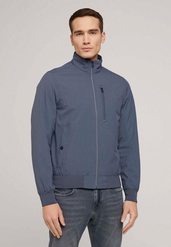 мужская куртка tom tailor, синяя