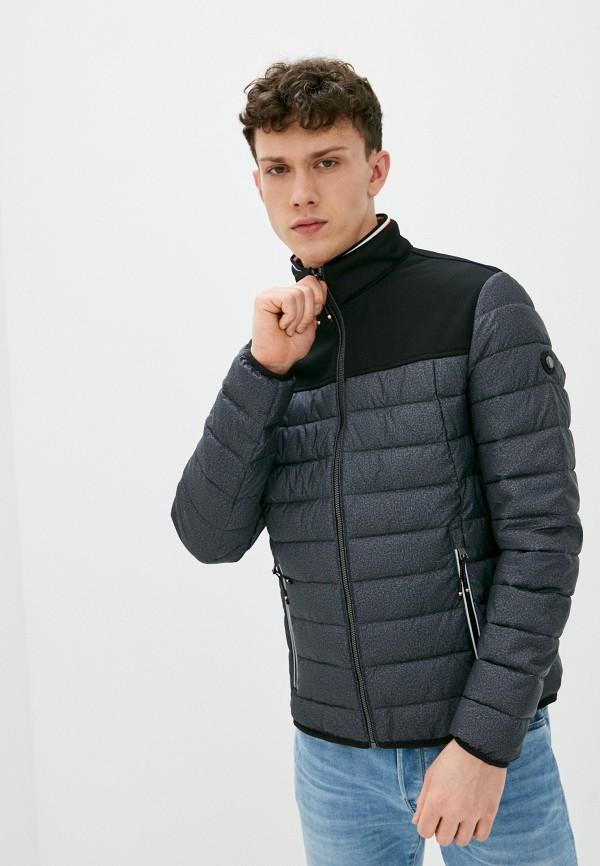 мужская куртка tom tailor, серая