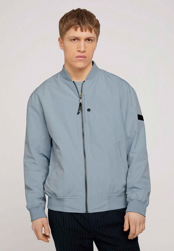 мужская куртка tom tailor, голубая