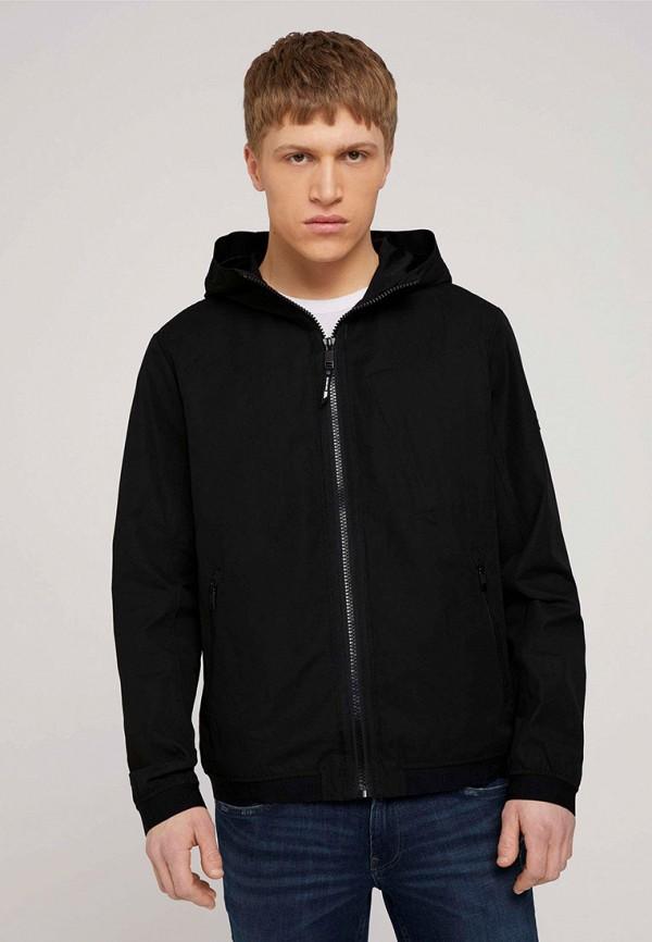 мужская легкие куртка tom tailor, черная