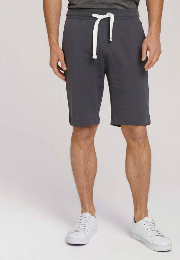 мужские спортивные шорты tom tailor, серые