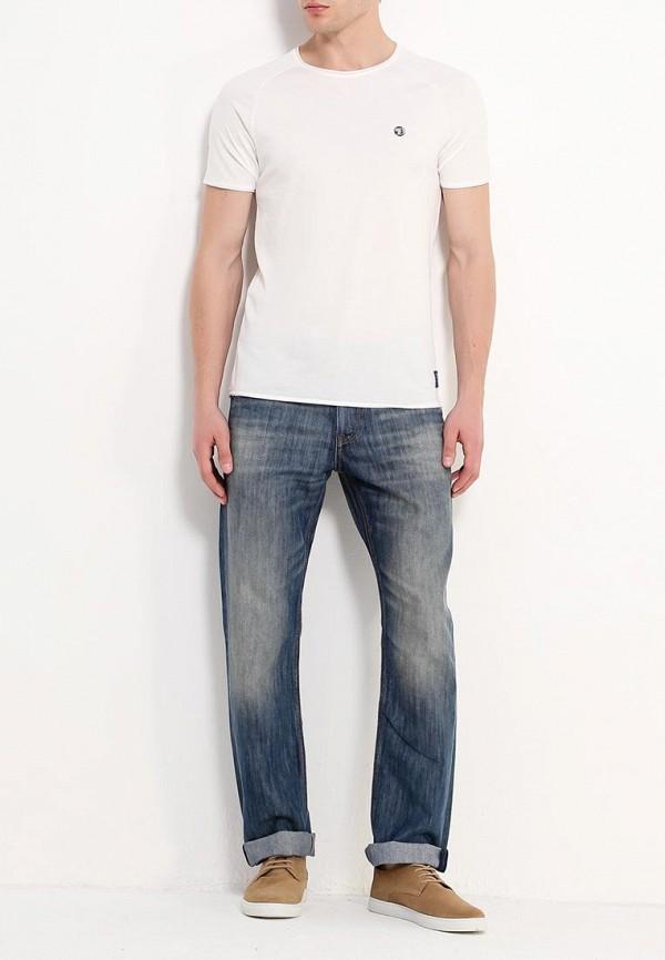 Фото 2 - мужские джинсы Tom Tailor синего цвета