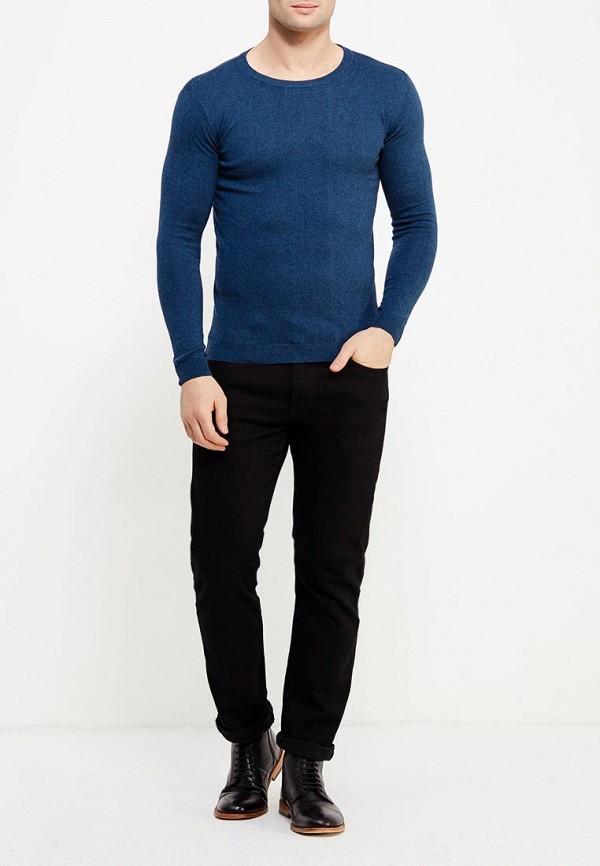 Фото 9 - мужское джемпер Tom Tailor синего цвета