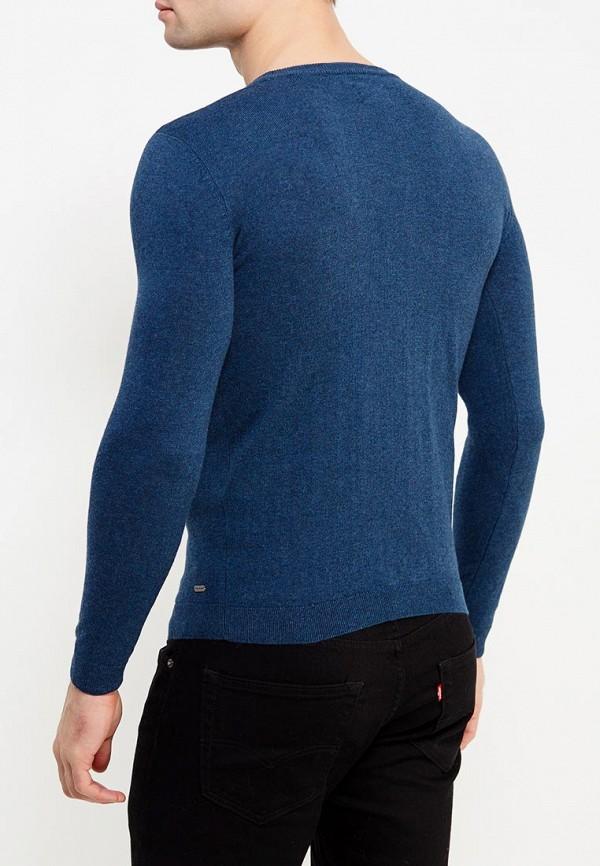 Фото 10 - мужское джемпер Tom Tailor синего цвета
