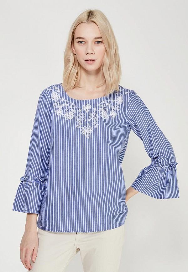 Купить Блуза Tom Tailor, TO172EWACRD2, синий, Весна-лето 2018