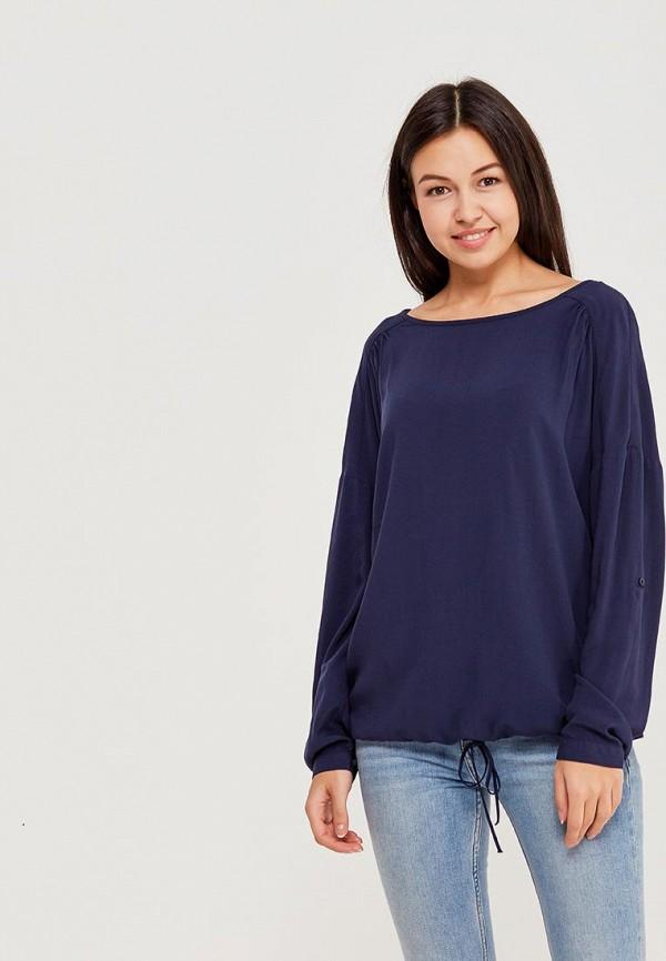 Купить Блуза Tom Tailor, TO172EWACRD6, синий, Весна-лето 2018