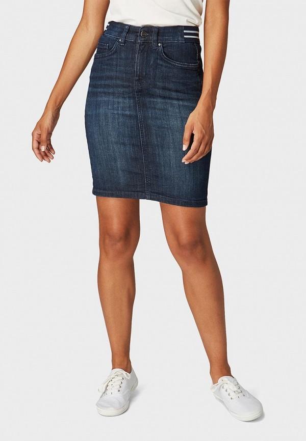 Юбка джинсовая Tom Tailor Tom Tailor TO172EWBXHE3 юбка джинсовая tom tailor tom tailor to172ewchkg6