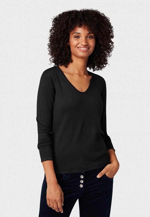 Пуловер Tom Tailor Tom Tailor TO172EWCUSU1 майка tom tailor цвет черный