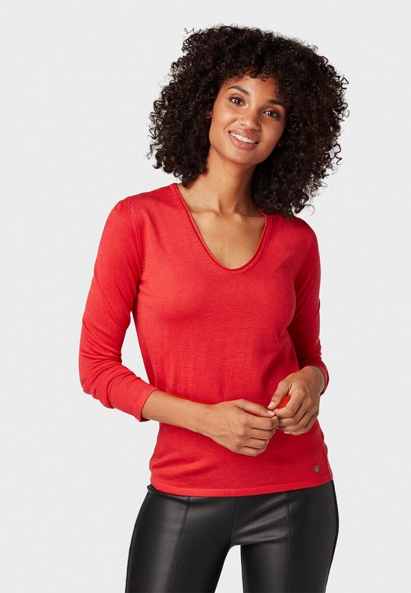 Пуловер Tom Tailor Tom Tailor TO172EWCUSU3 цена 2017