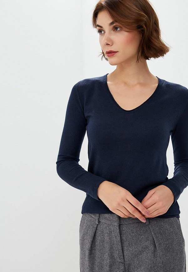женский пуловер tom tailor, синий