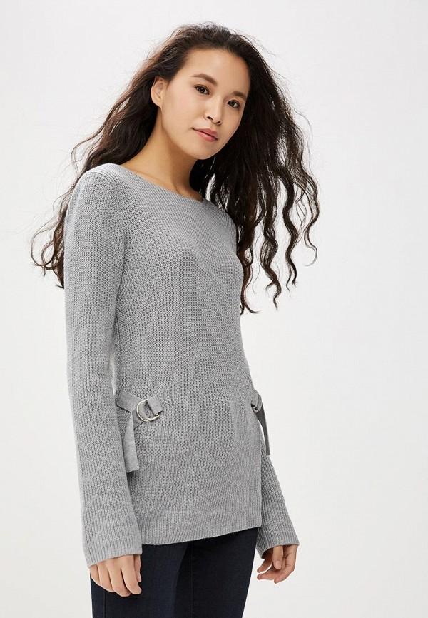 женский джемпер tom tailor, серый