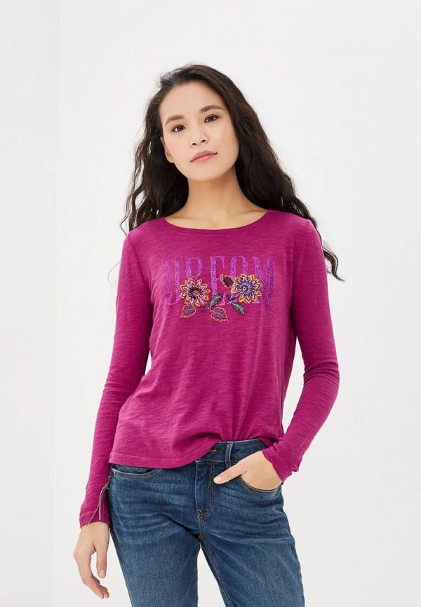 женский джемпер tom tailor, фиолетовый