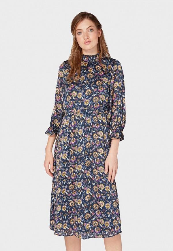 Платье Tom Tailor Tom Tailor TO172EWDFTJ2 платье для девочки tom tailor цвет серый темно синий 5019899 00 81 1000 размер 92 98