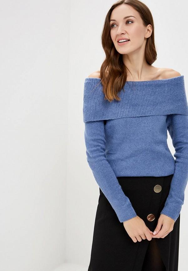 женский свитер tom tailor, голубой