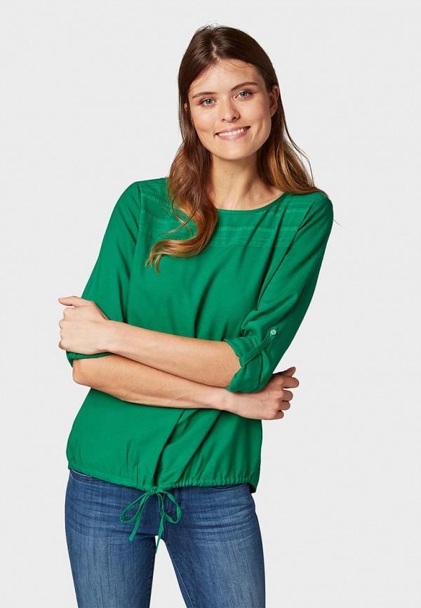 Блуза Tom Tailor Tom Tailor TO172EWDJII7 блуза tom tailor цвет зеленый
