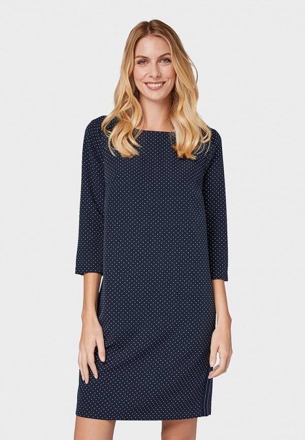 Платье Tom Tailor Tom Tailor TO172EWDREX4 платье для девочки tom tailor цвет серый темно синий 5019899 00 81 1000 размер 92 98