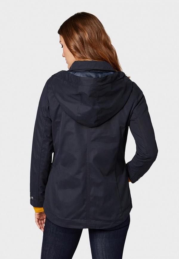 Фото 3 - Куртку утепленная Tom Tailor синего цвета
