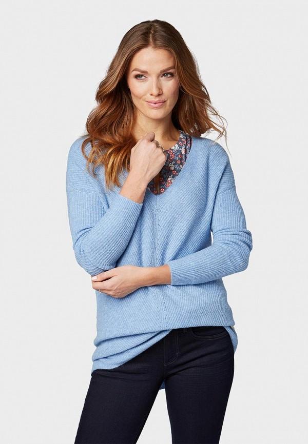 Пуловер Tom Tailor Tom Tailor TO172EWDTHV9 цена 2017