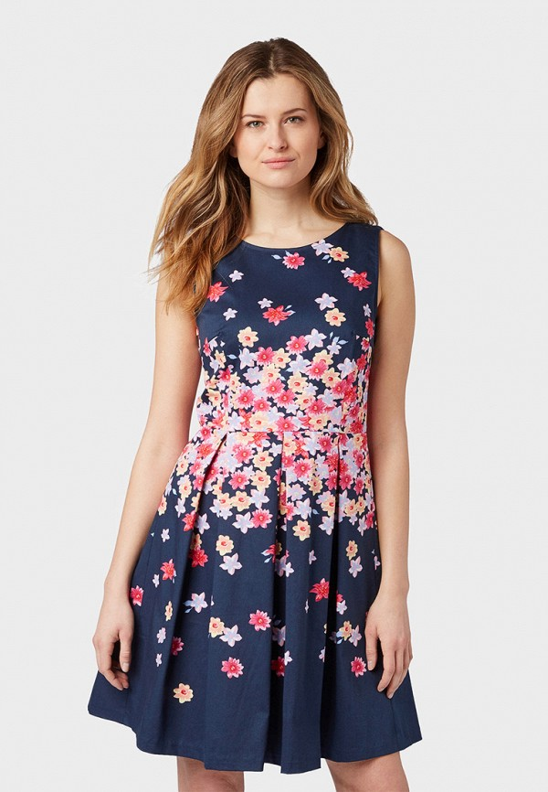 Фото - женское платье Tom Tailor синего цвета