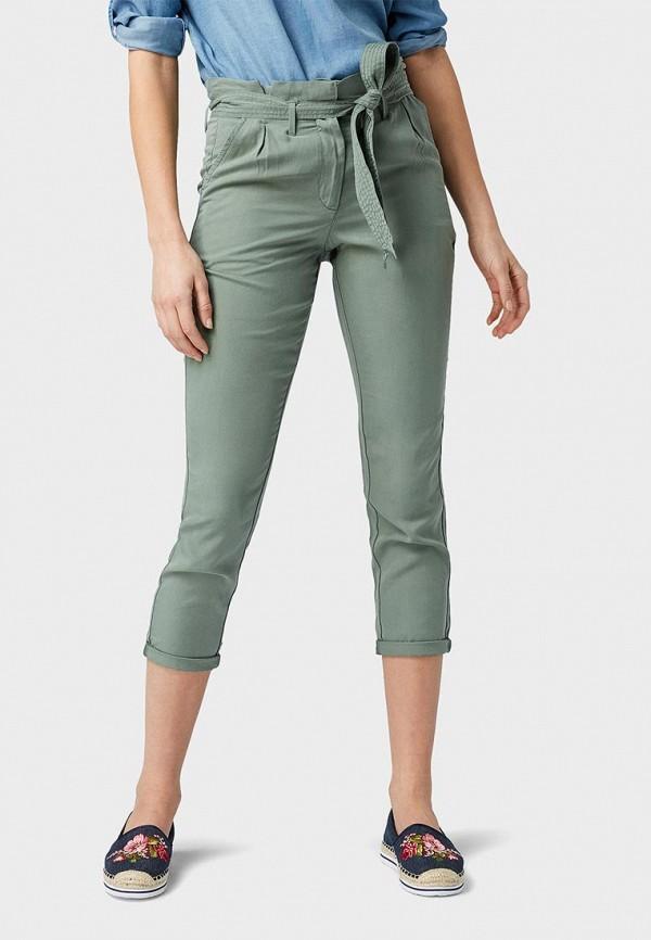 Брюки Tom Tailor Tom Tailor TO172EWDTIZ0 брюки мужские tom tailor цвет зеленый 6855008 00 12 7807 размер l 50
