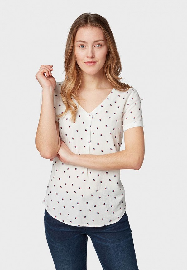 Блуза Tom Tailor Tom Tailor TO172EWDTTY2 цена