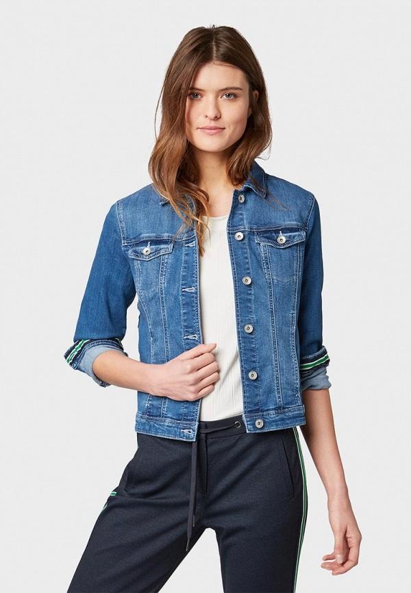 Куртка джинсовая Tom Tailor Tom Tailor TO172EWDTUC9