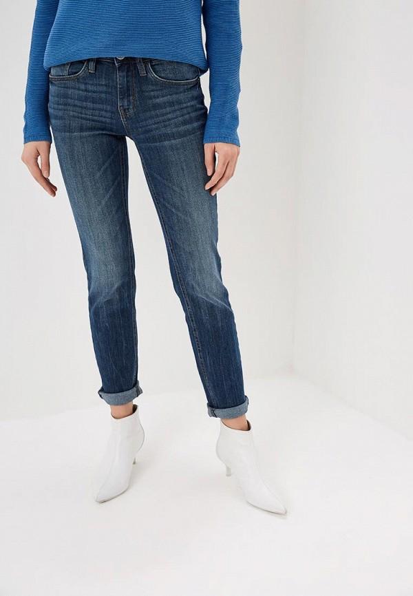 женские джинсы tom tailor, синие