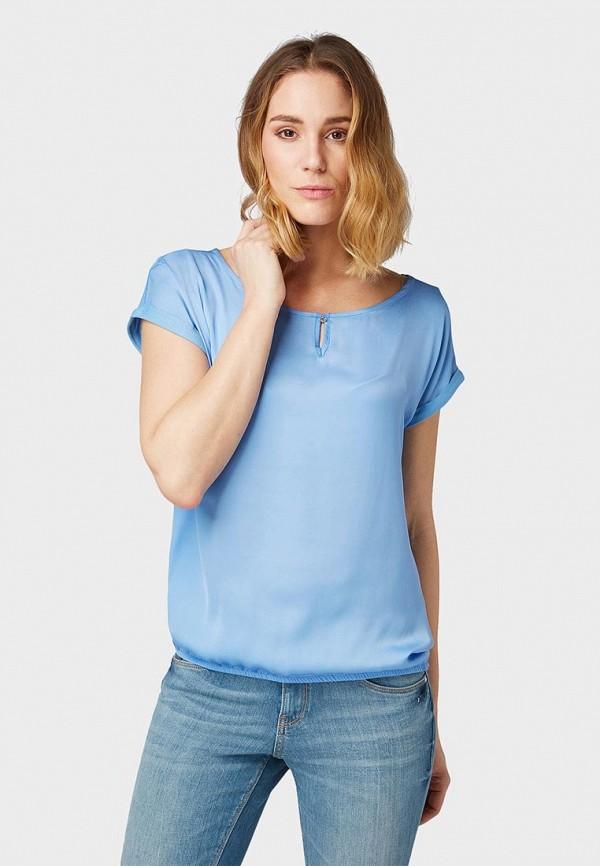 цена Блуза Tom Tailor Tom Tailor TO172EWEOWP3 онлайн в 2017 году