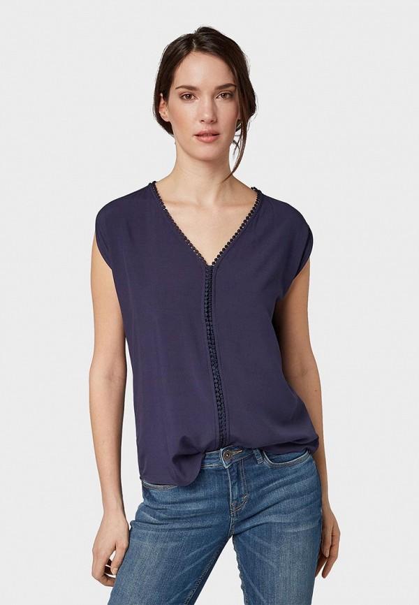 Блуза Tom Tailor Tom Tailor TO172EWFEFL5 цена