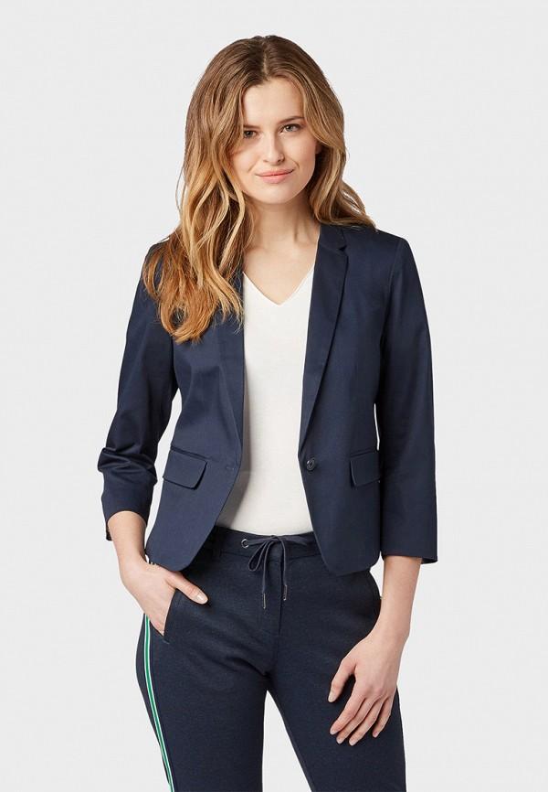 Пиджак Tom Tailor Tom Tailor TO172EWFHHF0 цена