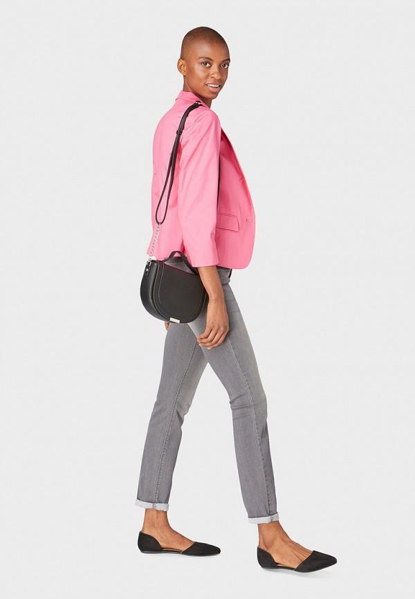 Фото 2 - женский пиджак Tom Tailor розового цвета