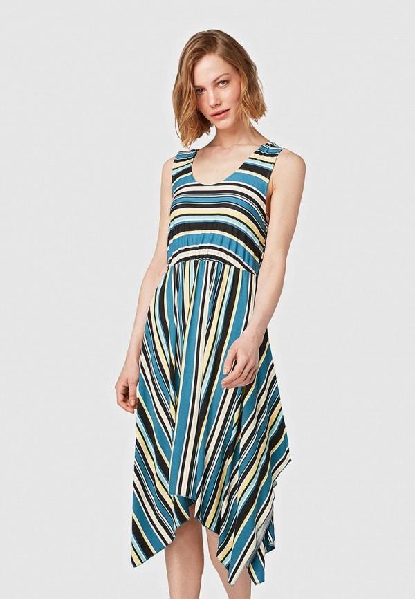 Платье Tom Tailor Tom Tailor TO172EWFJEQ9 платье tom tailor tom tailor to172ewdtiw2