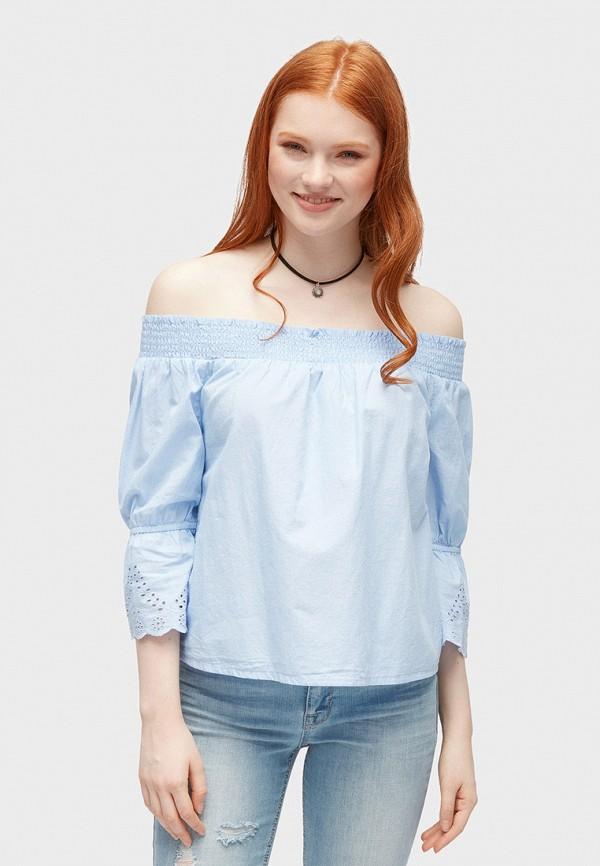 лучшая цена Блуза Tom Tailor Denim Tom Tailor Denim TO172EWFOJE4