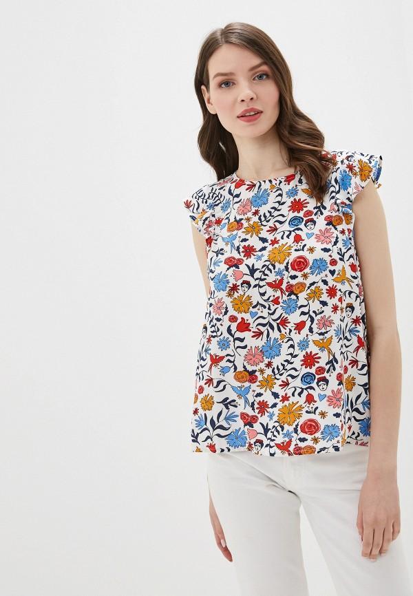 Фото - женскую блузку Tom Tailor Denim белого цвета
