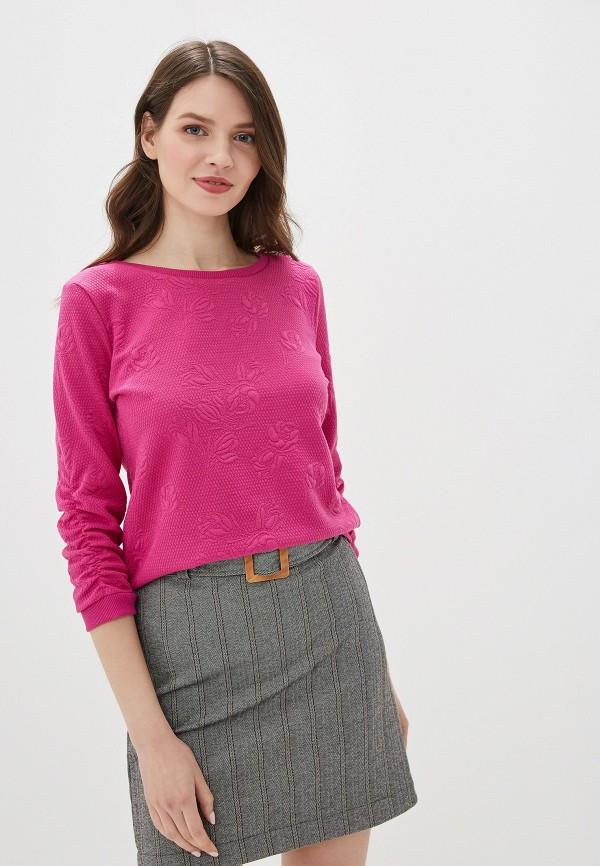 женский свитшот tom tailor, розовый